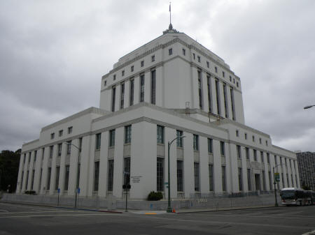 County Courthouse in Oakland California